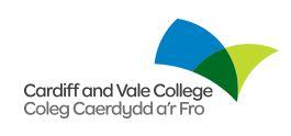 Cardiff & Vale College logo