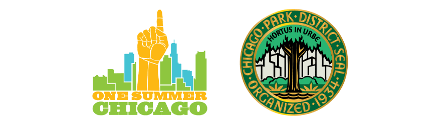 One Summer Chicago Logo and the Chicago Park District Seal