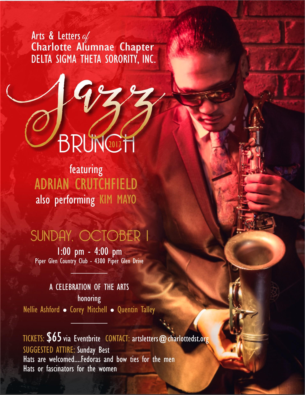 Jazz Brunch Flyer
