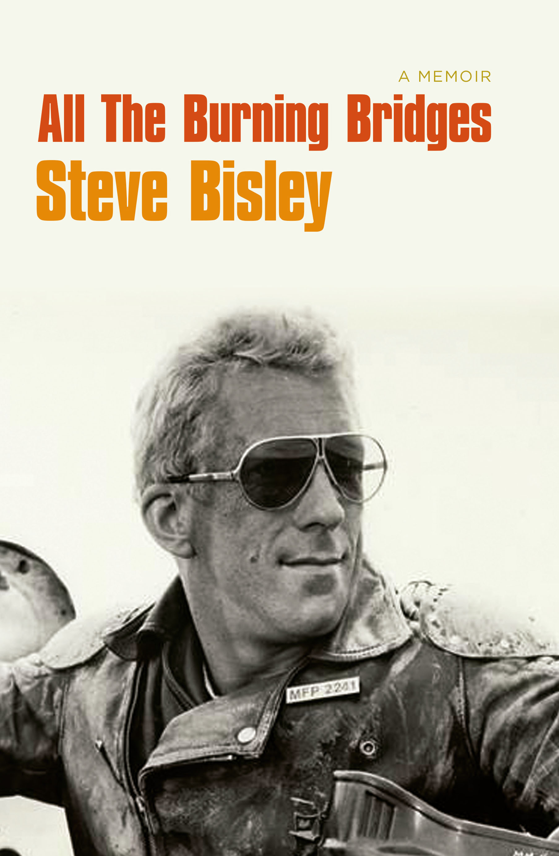 Steve Bisley book cover