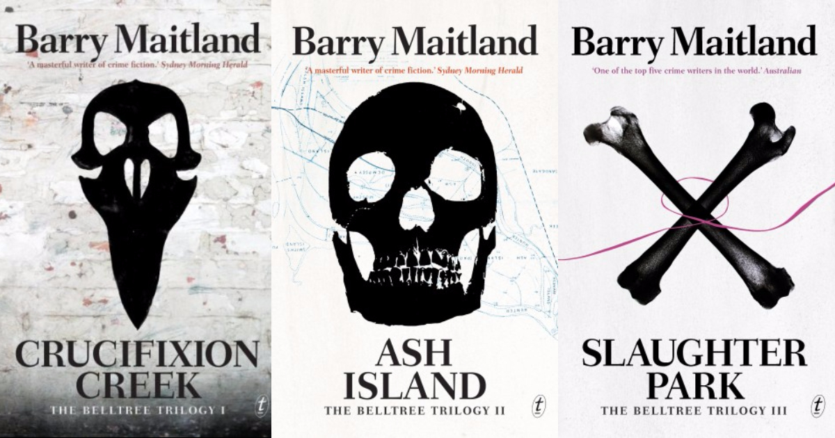 Barry Maitland Covers