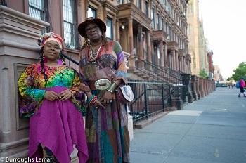 women in Harlem