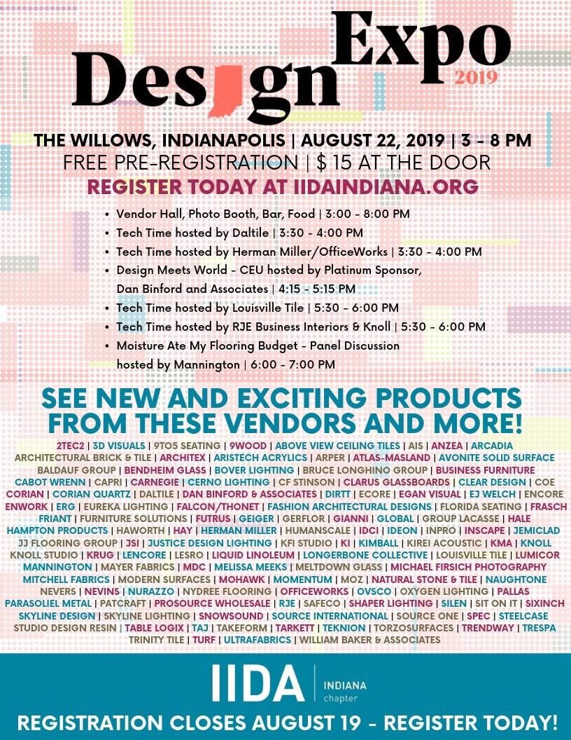 Design Expo Agenda