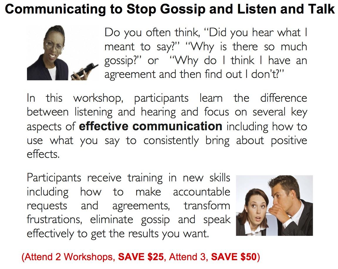 Communication and Gossip