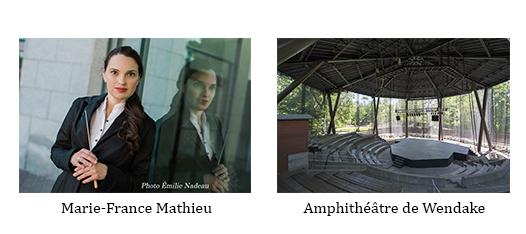 Chef d'orchestre et amphitheatre