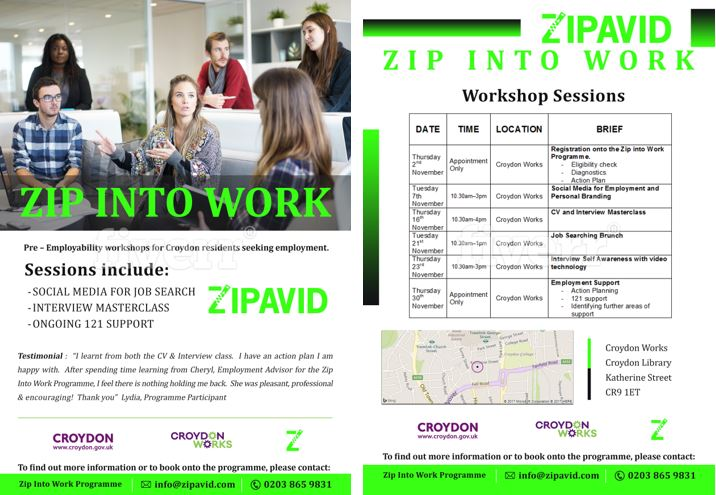 Zip into Work 5