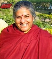 Luncheon with Dr. Vandana Shiva Fundraiser for the SEED...
