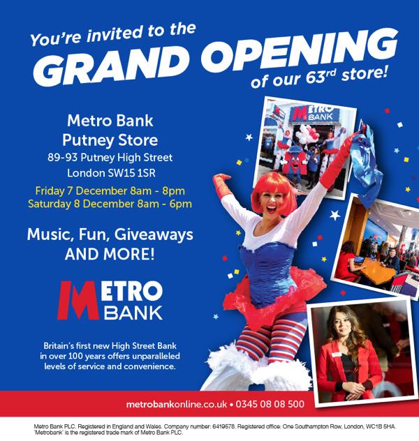 Metro Bank Putney