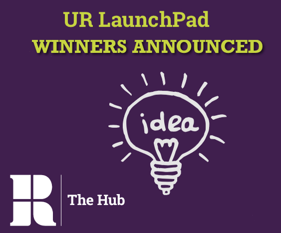 UR Launchpad Winners Logo