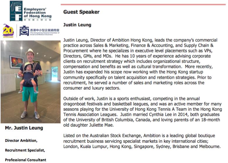 Justin Leung Small Talks Circles