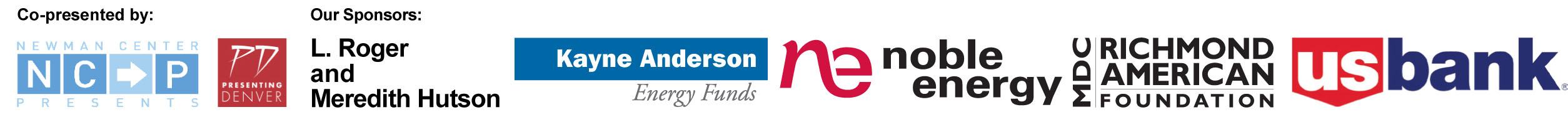 Co-presenter and Sponsor logos