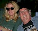 Singer Jeanne Lozier and guitarist Don Leich