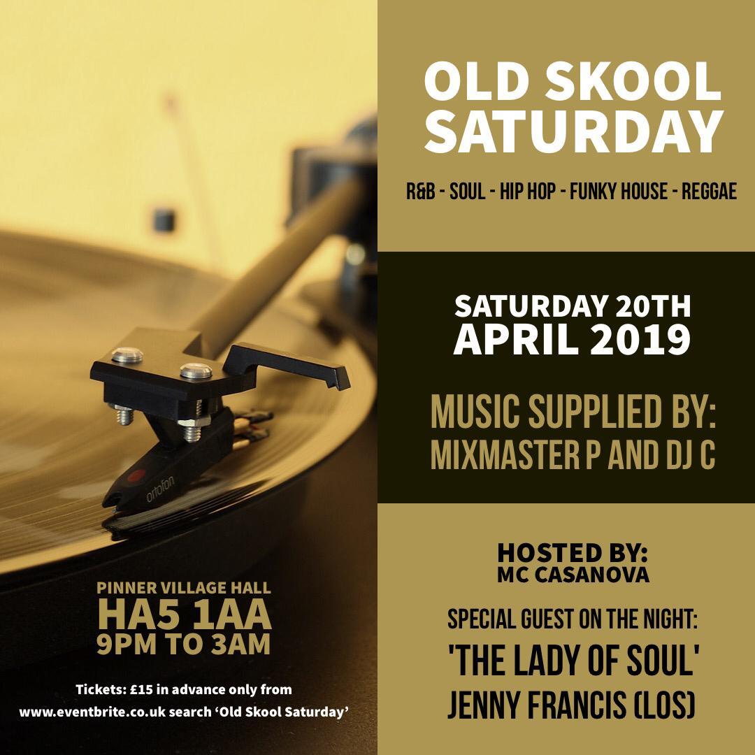 Old Skool Saturday