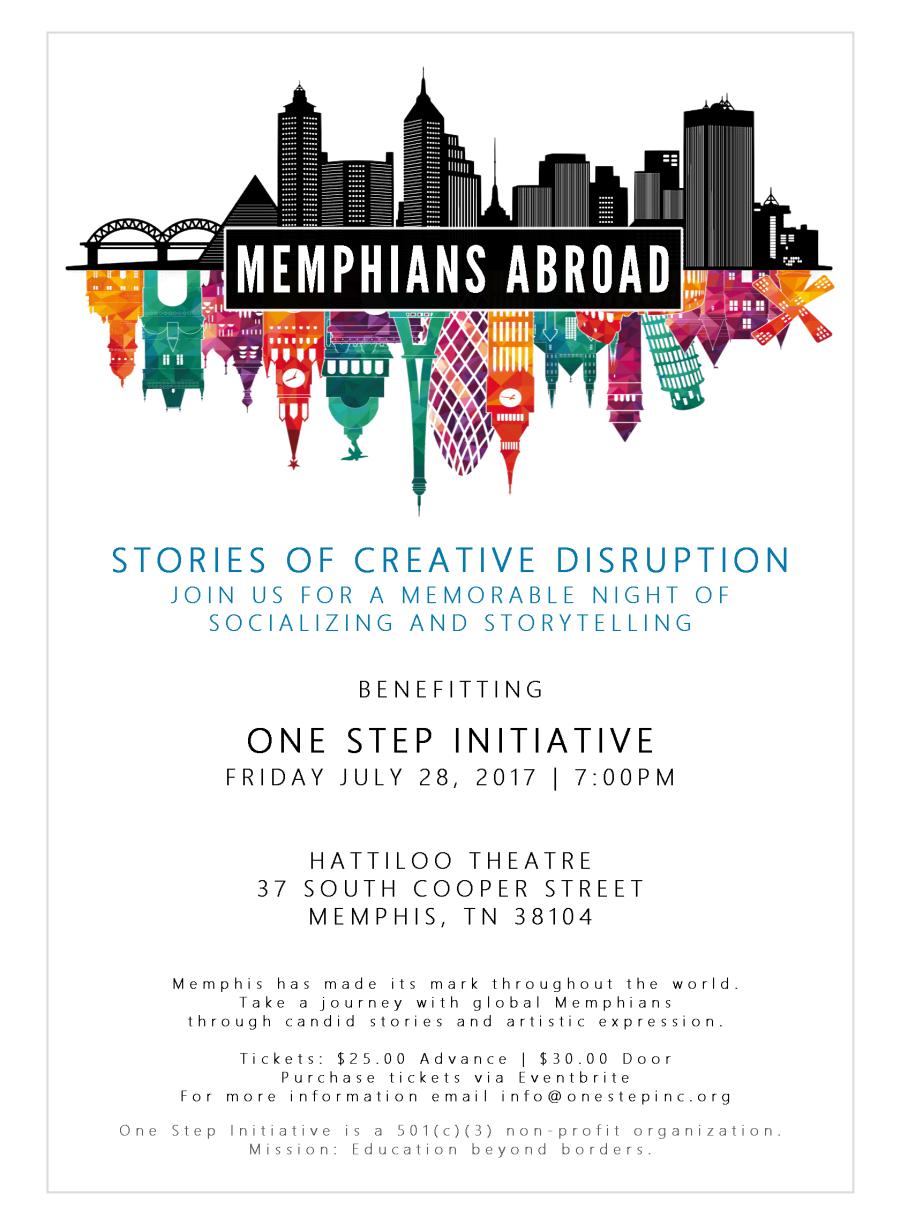 Memphians Abroad Event at Hattiloo Theatre