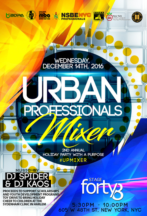 2016 Urban Professionals Holiday Party