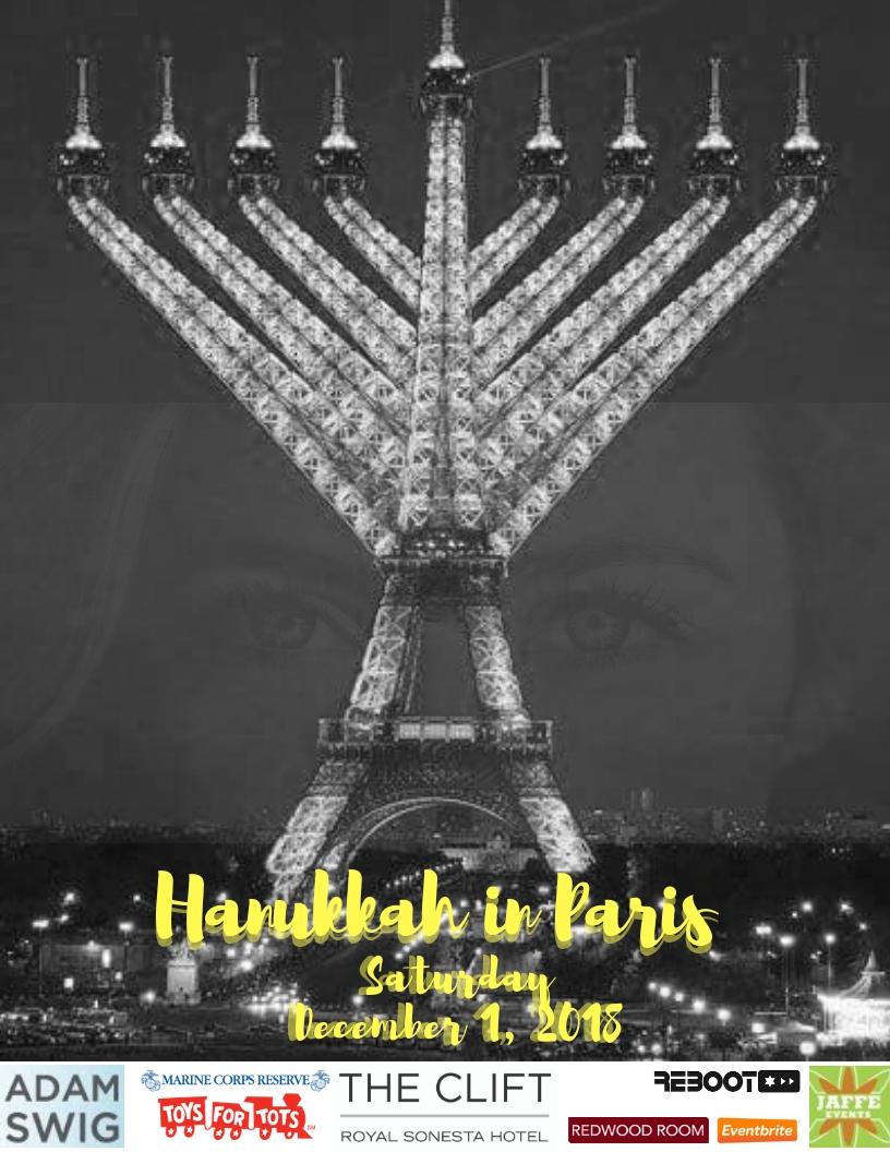 Hanukkah in Paris 2018