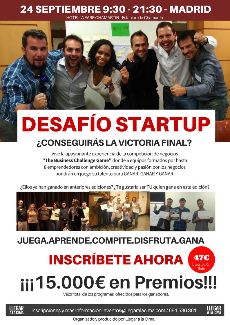 Desafío Startup - The Business Challenge Game