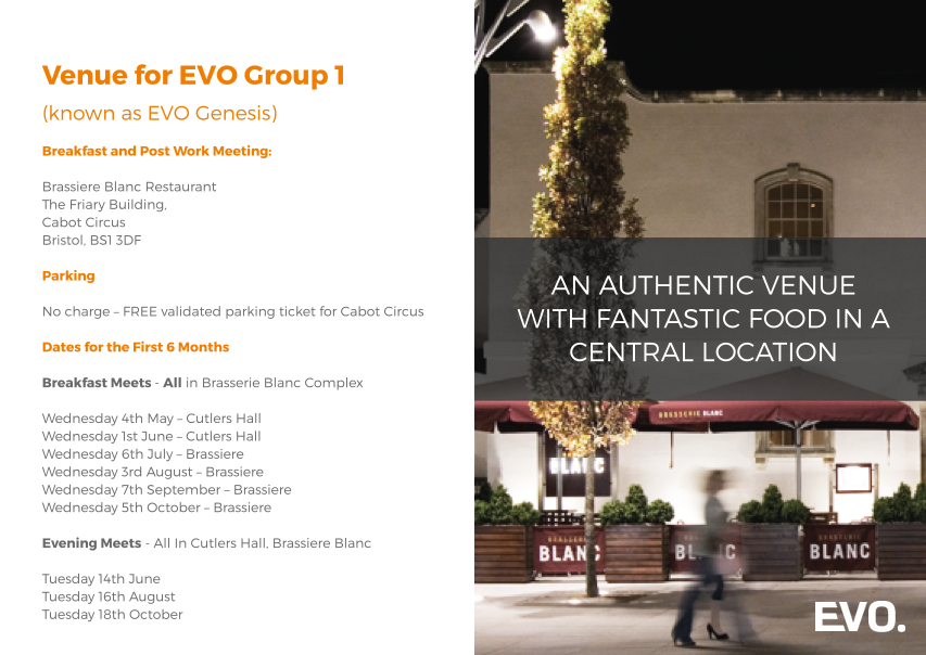Page from EVO Brochure
