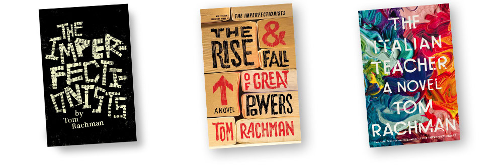 Books by Tom Rachman