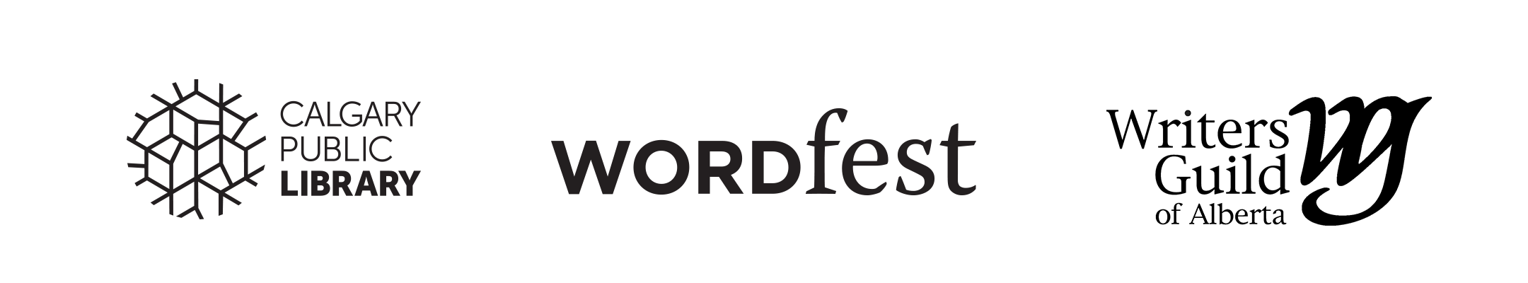 CPL Wordfest and WGA Logos