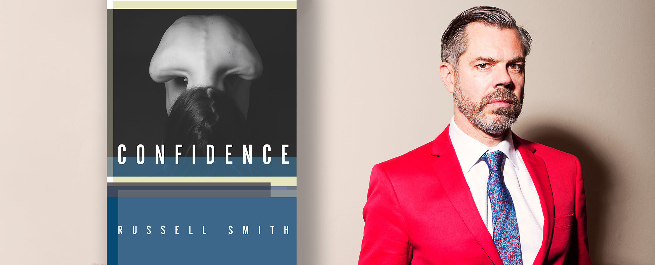 Russell Smith and his short story collection, Confidence