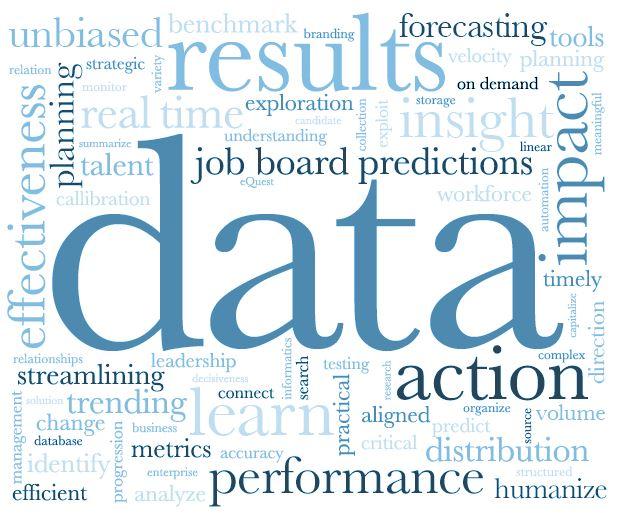 Data facilitates simple decisions