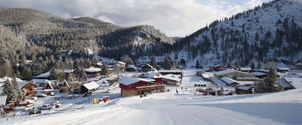photo of ski mountain in Red River, New Mexico