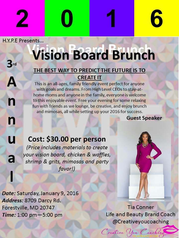 How to Host a Vision Board Party Workshop Tickets, Tue ... |Events Vision Board