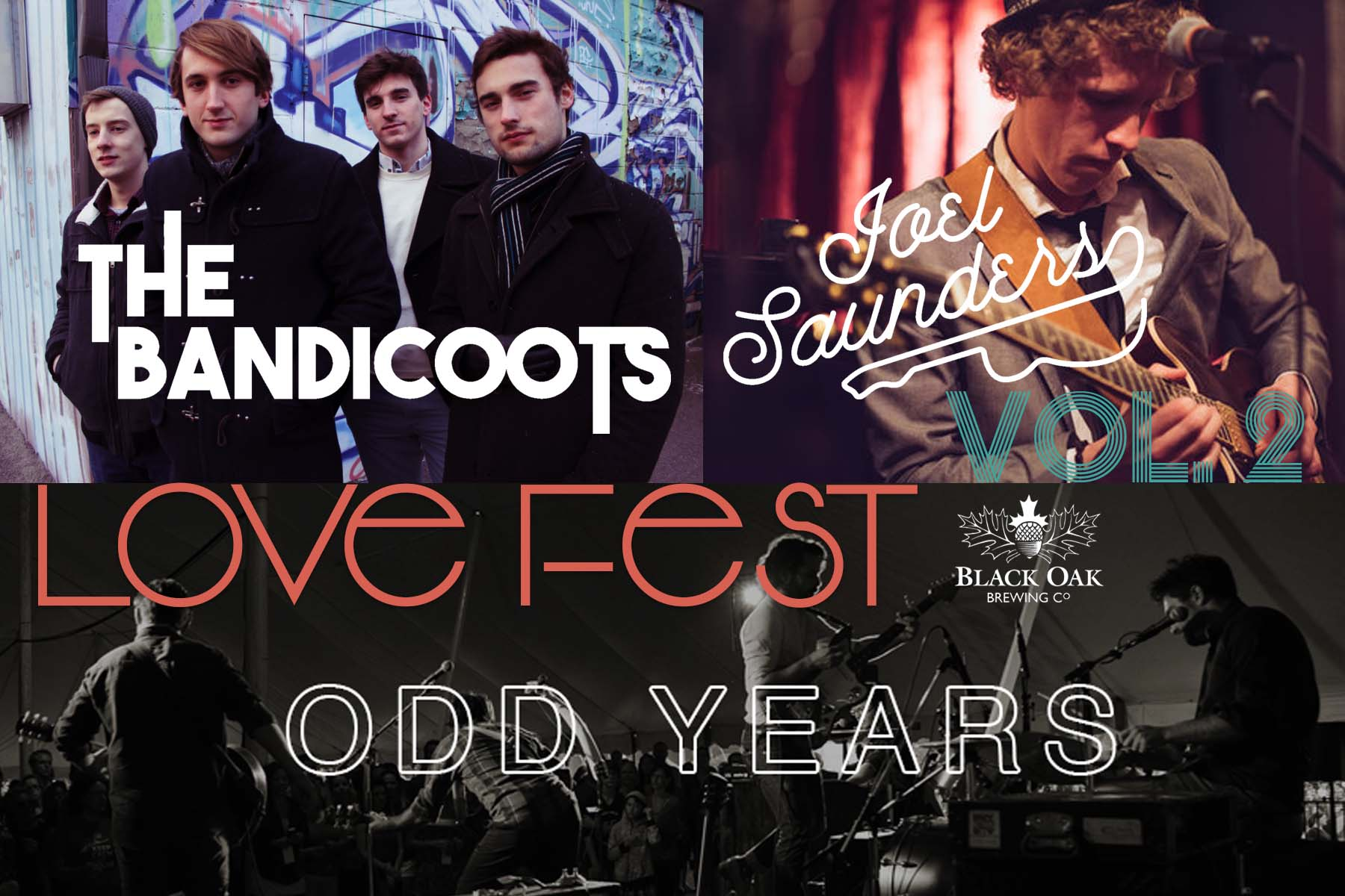 Love Fest Vol. 2 Bands