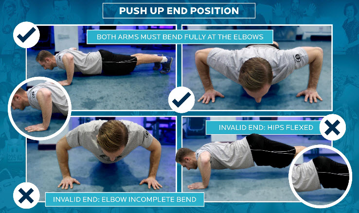 Push-up End Position