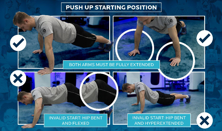 Push-up Starting Position