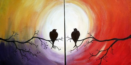 Duet wine and paint nite lake nona social tickets wed for Wine and paint orlando