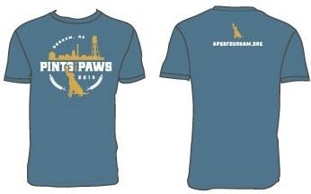 Pints For Paws Tshirt