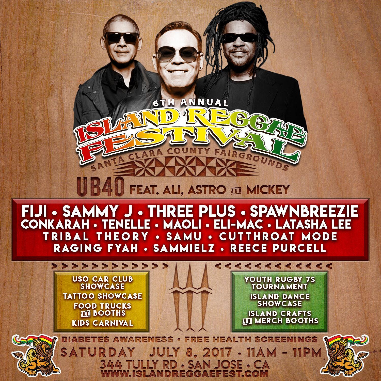 6th Annual Island Reggae Festival Tickets, Sat, Jul 8, 2017 at 11 ...