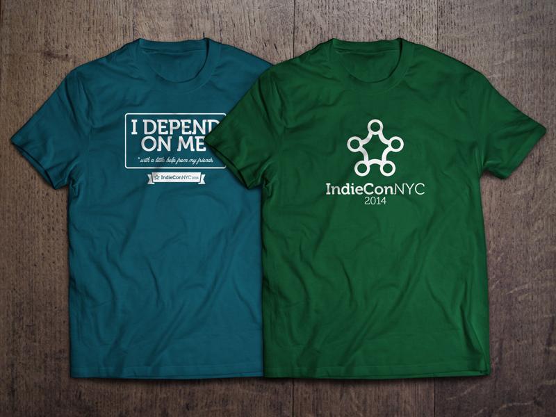 IndieCon tee shirts!