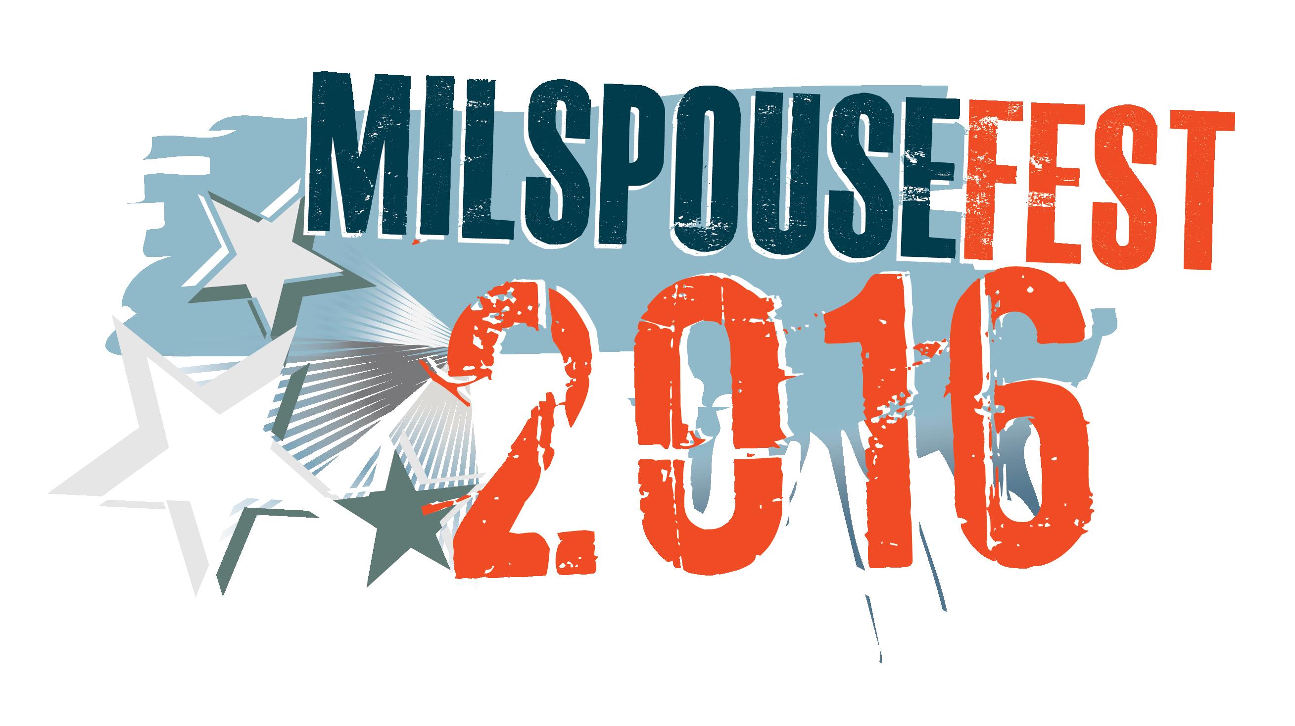 MilspouseFest 2016 Logo