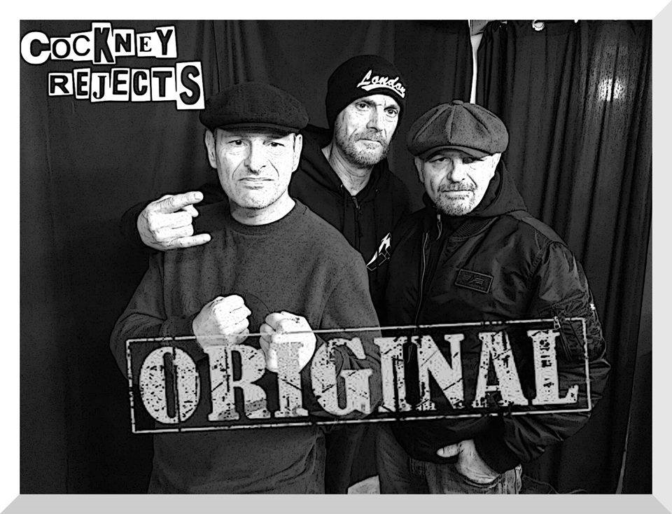Cockney Rejects - Original Lineup