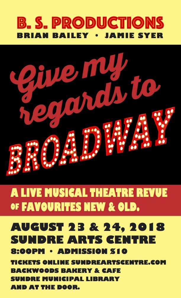 Give My Regards to Broadway poster