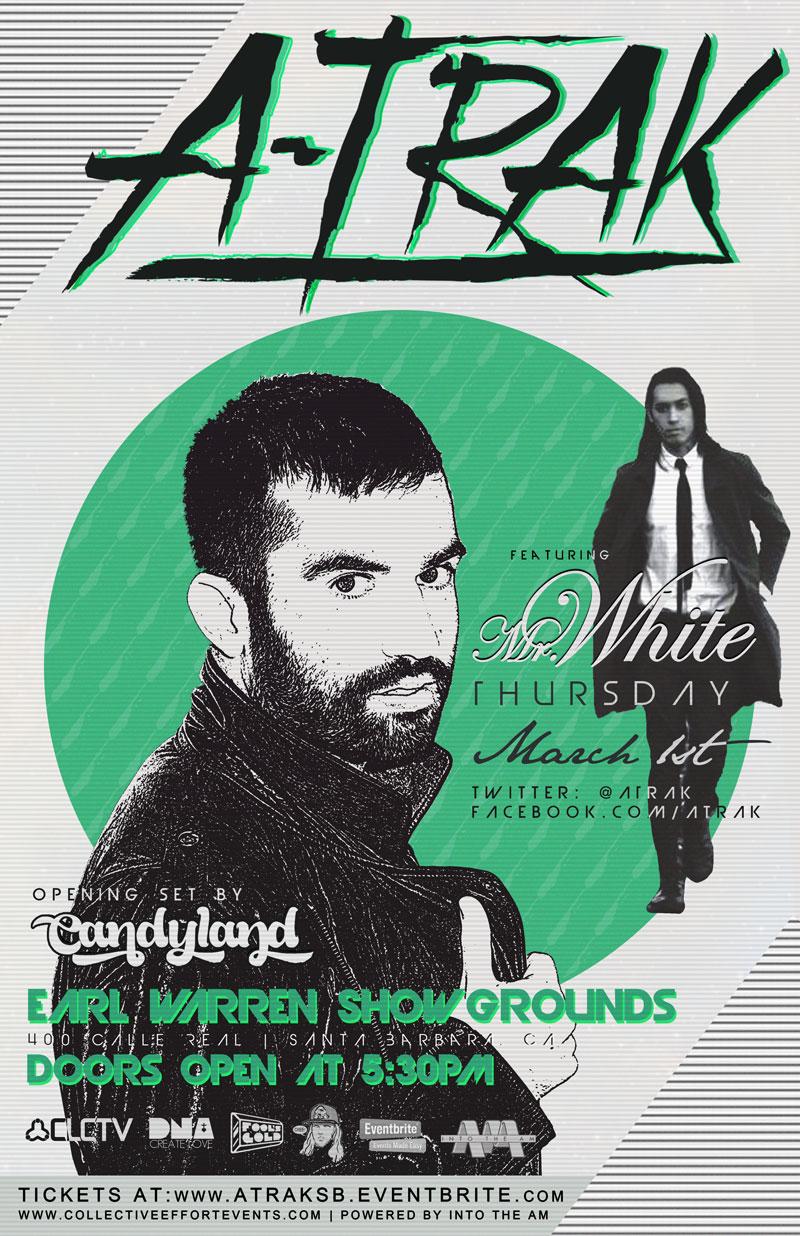 ATrak - Mr White - Candyland - Santa Barbara
