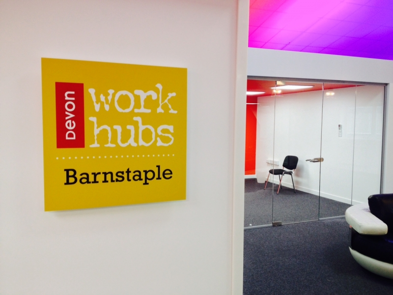 Devon Work Hubs Barnstaple internal view