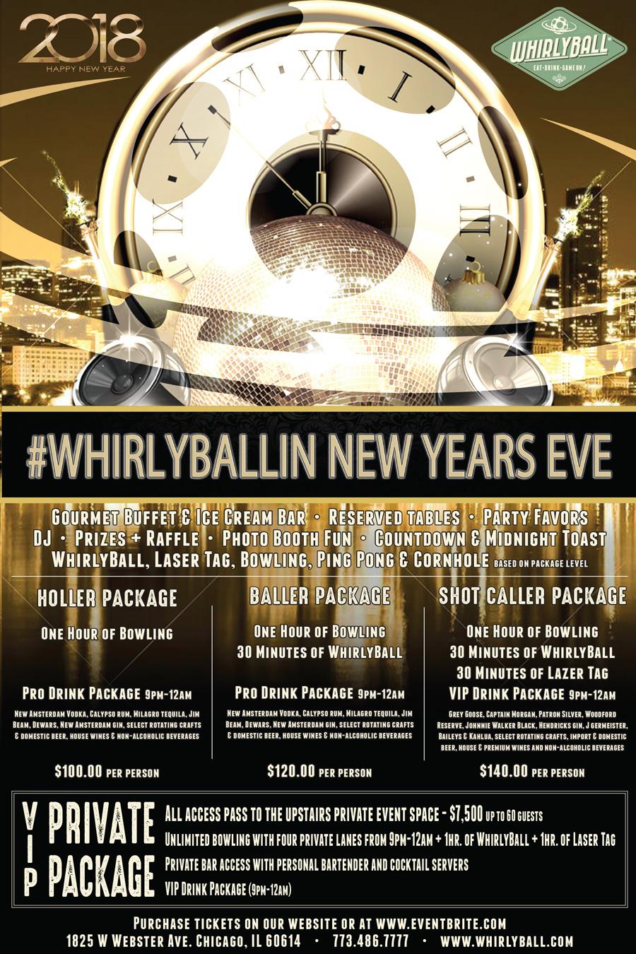 #WhirlyBallin' NYE 2018