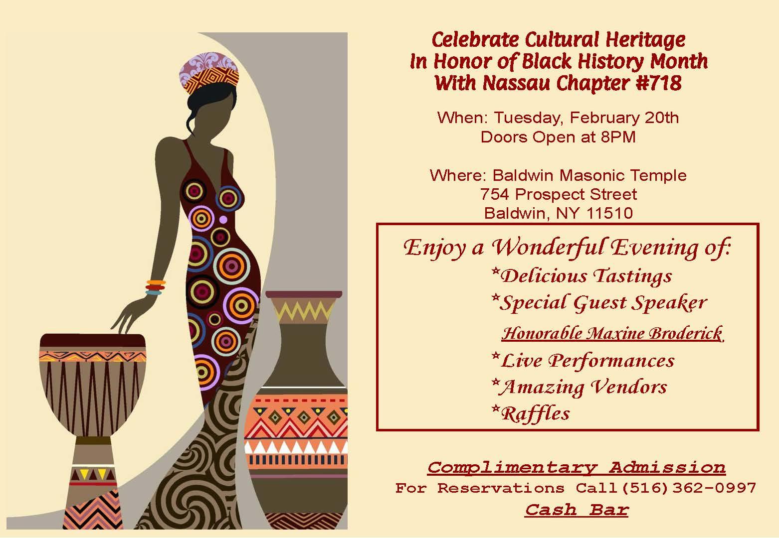 Cultural Heritage invite