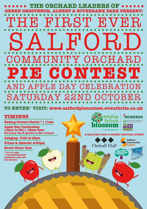 Salford Pie Contest Poster