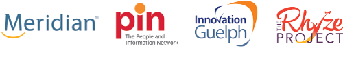 Meridian, PIN - The People and Information Network, The Rhyze Project, Innovation Guelph