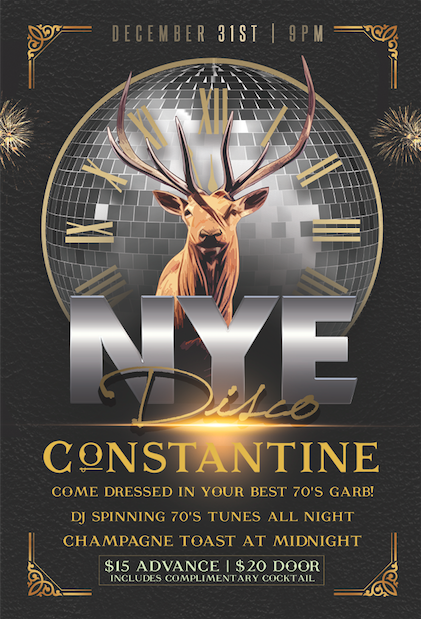 New Year's Eve Disco at Constantine