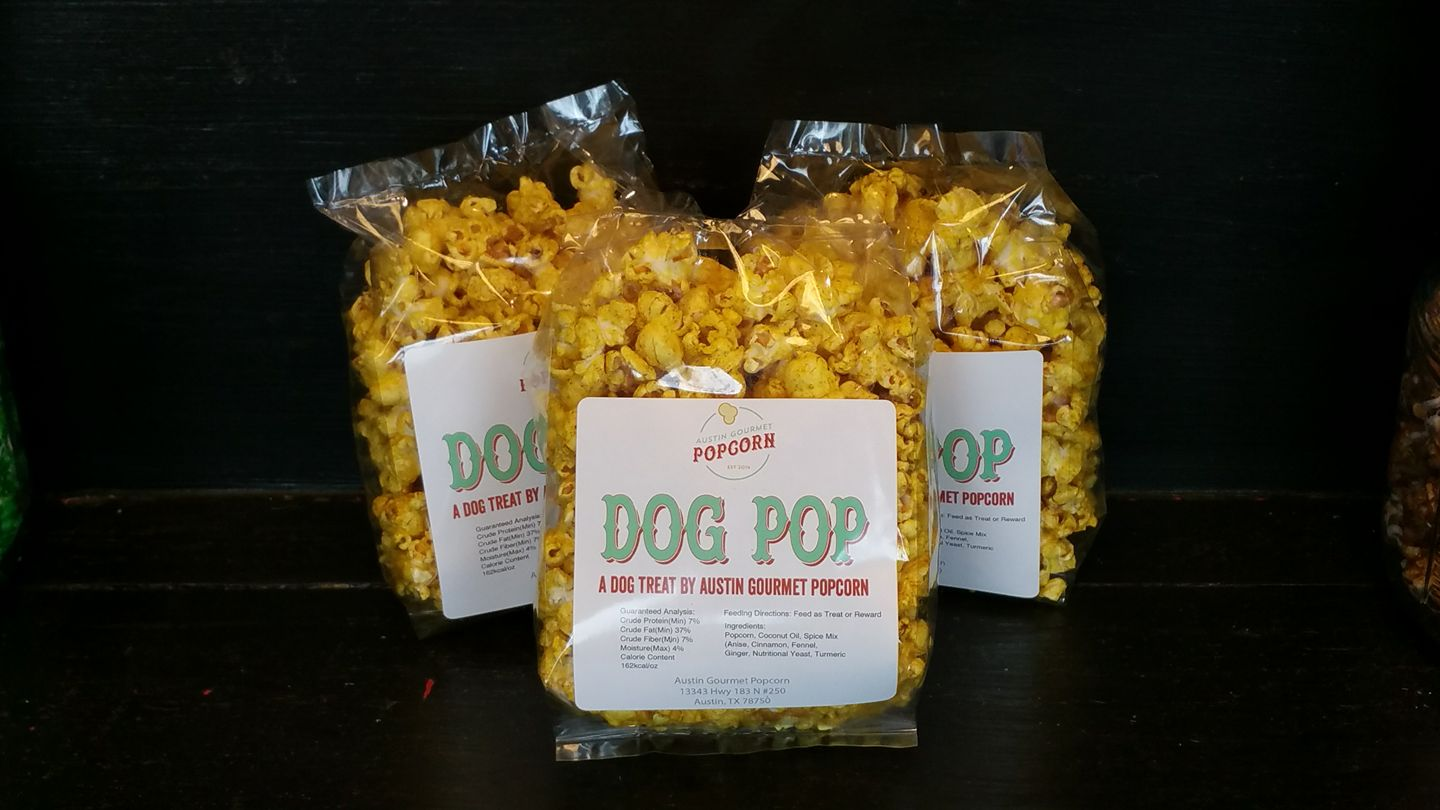 Austin Gourmet Popcorn Dog Pop