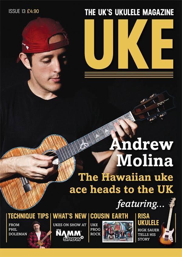 Uke Magazine with Andrew