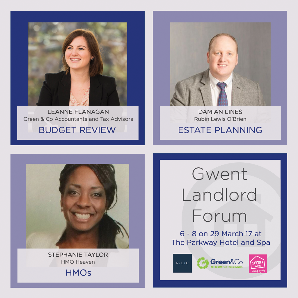 Gwent Landlord Forum Speakers - 29 March 2017