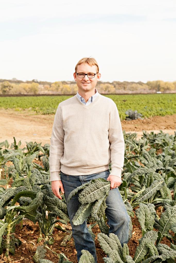 Farmer Thaddeus Barsotti