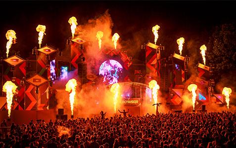 ELECTRISIZE Festival 2017 EDM Mainstage